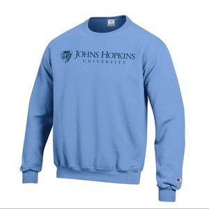 Johns Hopkins University Pullover Crew Sweater